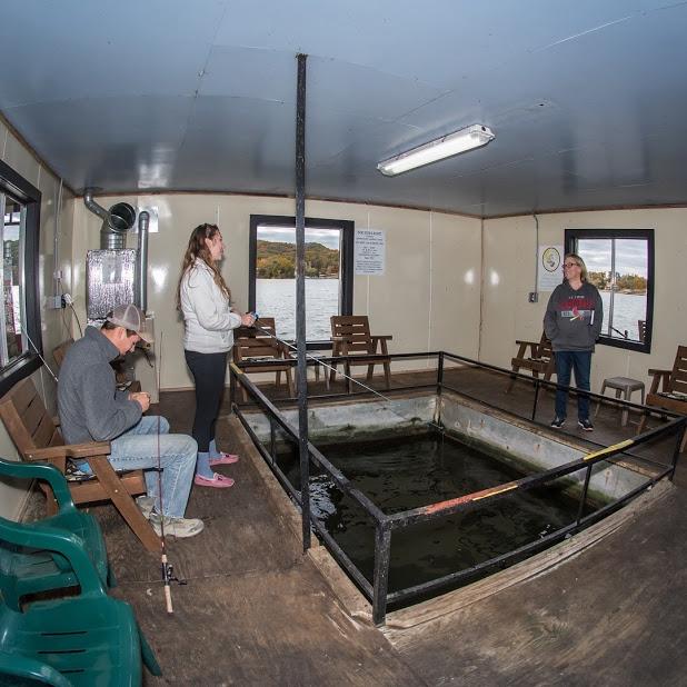 Indoor Fishing Dock